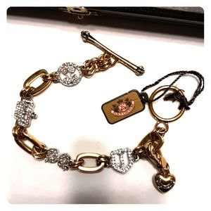 NWT Beautiful JUICY COUTURE Charm Bracelet & Charm